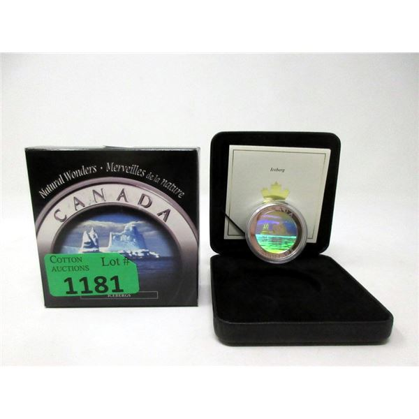 2004 Canada 1 Oz. Fine Silver $20  Hologram Coin