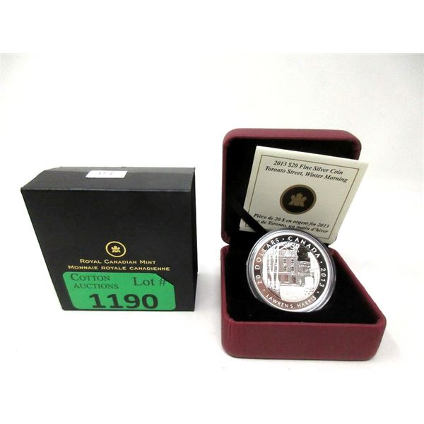 2013 Canada Fine Silver National Gallery $20 Coin