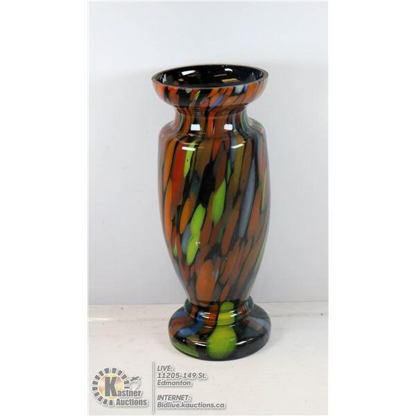 1930S BOHEMIAN ART GLASS VASE