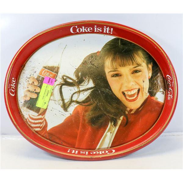 1960S COKE SERVING TRAY