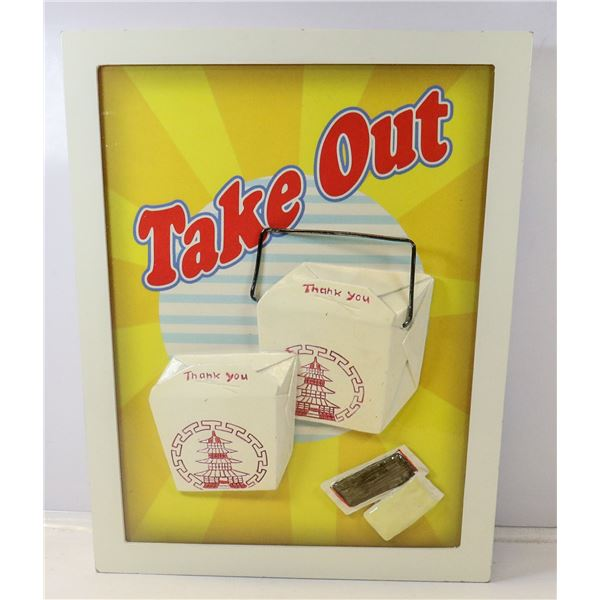 TAKE OUT CONTAINER WASTE BASKET