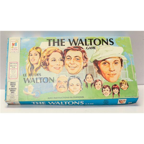 THE WALTONS BOARD GAME