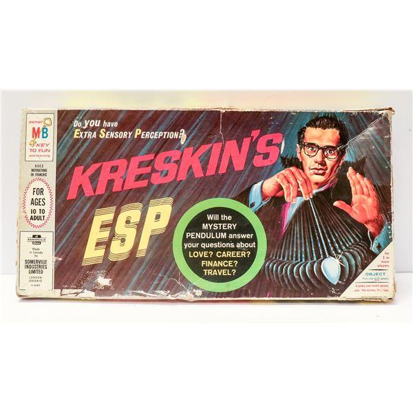 KRESKINS ESP BOARD GAME