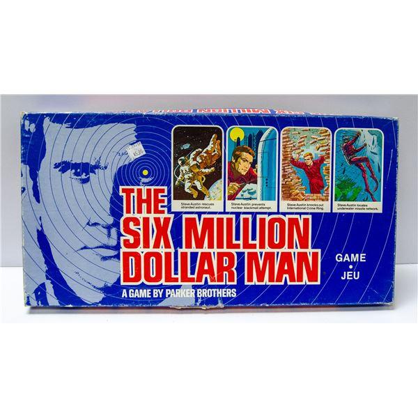 SIX MILLION DOLLAR MAN BIONIC GAME