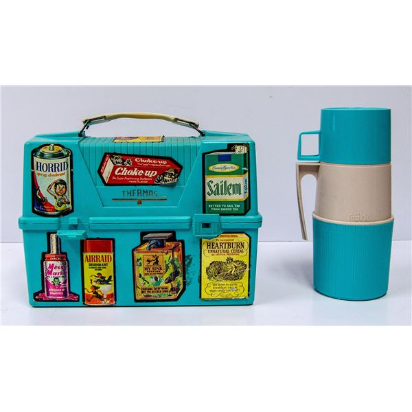 VINTAGE LUNCH BOX WITH THERMOS