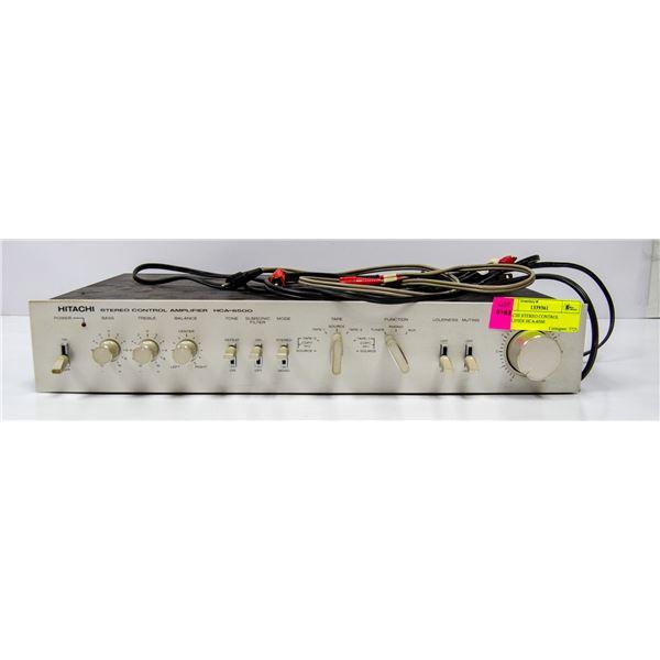 HITACHI STEREO CONTROL AMPLIFIER HCA-6500