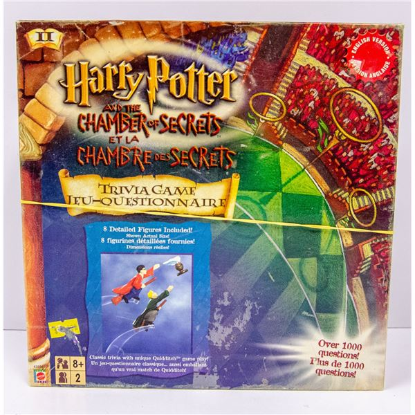 HARRY POTTER CHAMBER OF SECRETS BOARD GAME