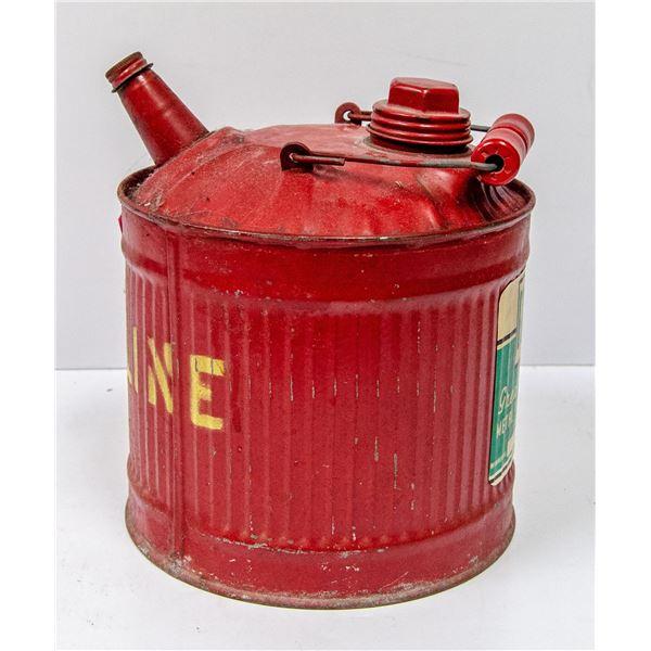 VINTAGE GASOLINE METAL CAN