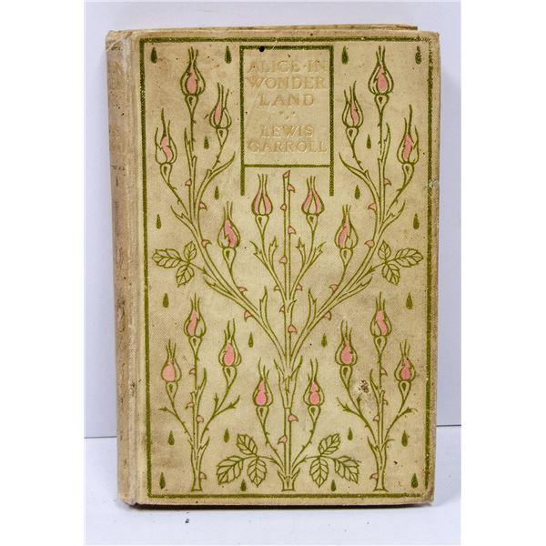 1907 ALICE IN WONDERLAND BOOK