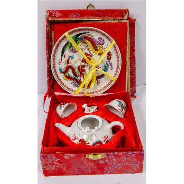 1950S CHILDS JAPANESE TEA SET IN BOX