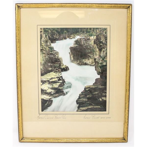 ALFRED BLYTH ORIGINAL PHOTO SIGNED OF MARBLE