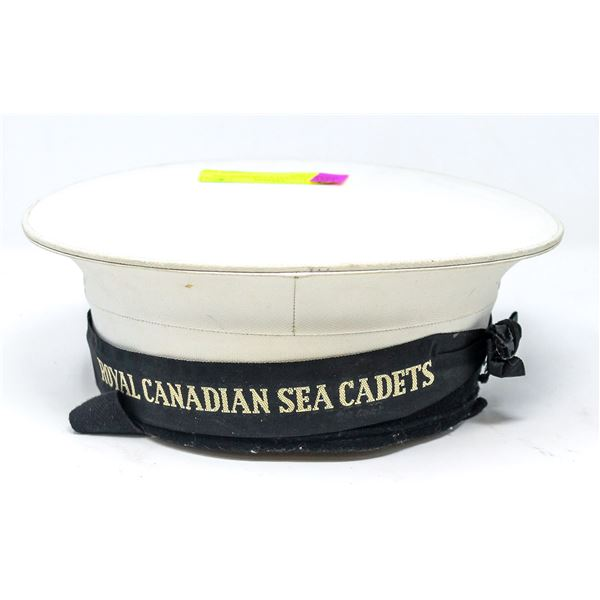 ANTIQUE SCULLY CANADIAN SEA CADET HAT
