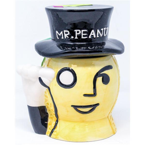 VINTAGE MR PEANUT COOKIE JAR