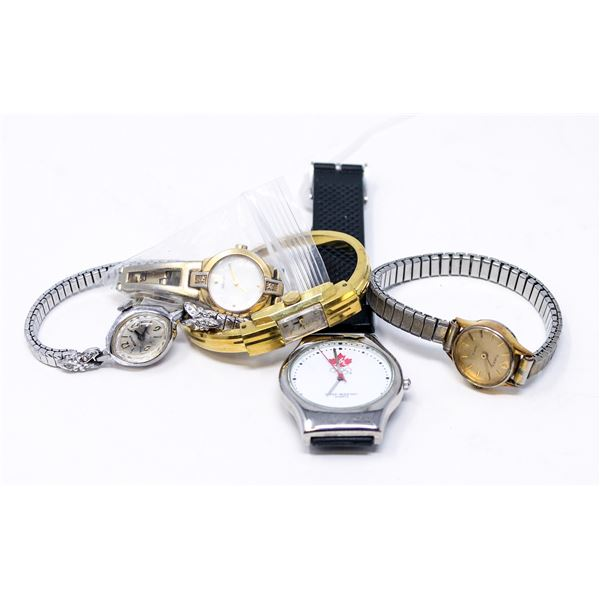 LOT OF ASSORTED VINTAGE LADIES WATCHES