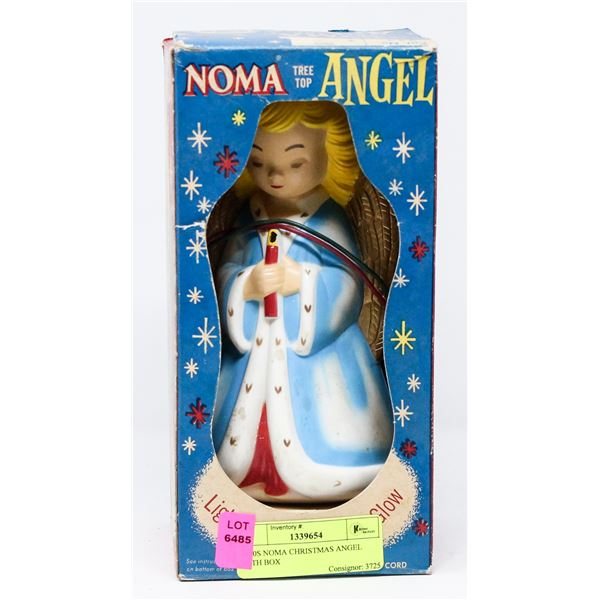 1950S NOMA CHRISTMAS ANGEL WITH BOX