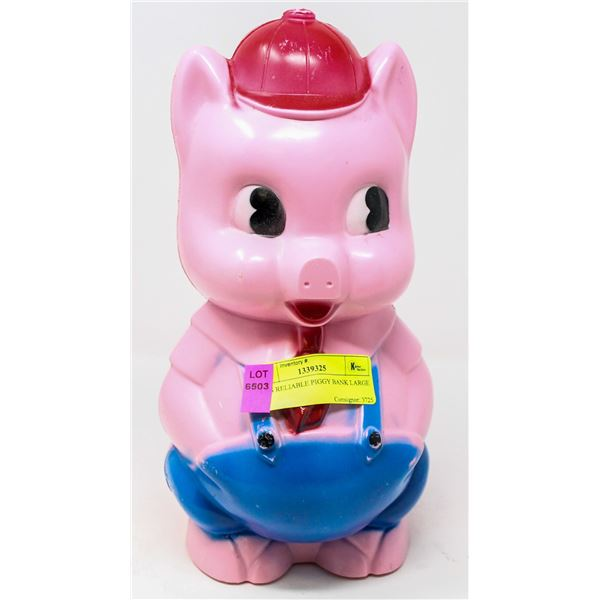 1950S RELIABLE PIGGY BANK LARGE