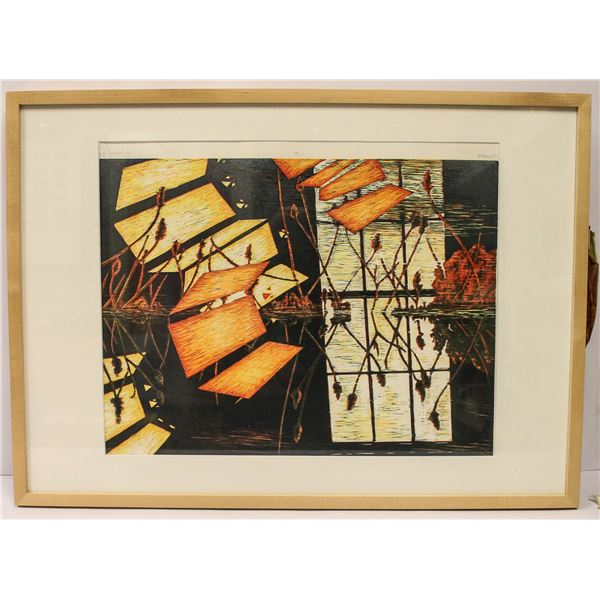 HEYWOOD ARTIST SIGNED LITHOGRAPH