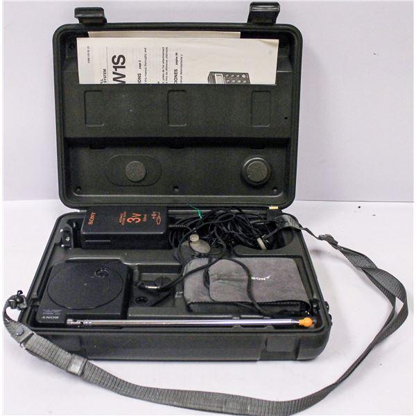 SONY WIRELESS MICROPHONE SET IN CASE