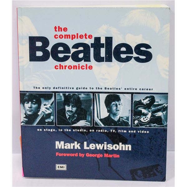 COMPLETE BEATLES CHRONICLE BOOK BY EMI