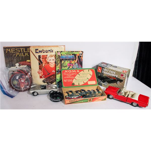 ASSORTED ESTATE BOX OF COLLECTIBLES