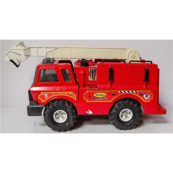 PRESSED STEEL TONKA FIRE TRUCK