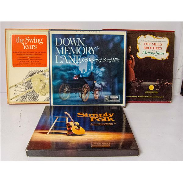 SET OF FOUR BOXED SET CLASSICAL ALBUMS