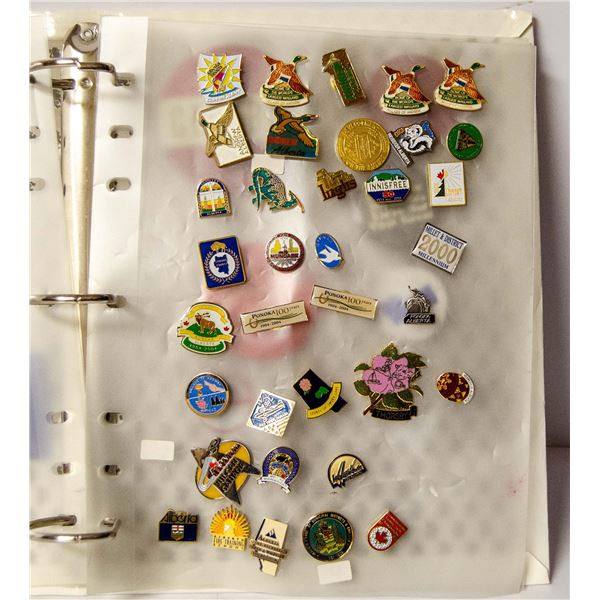 COLLECTION OF VINTAGE LAPEL PINS