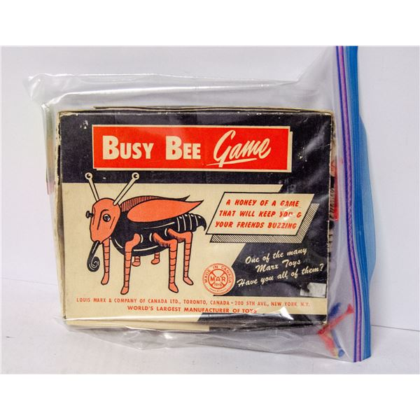 VINTAGE BUSY BEE GAME IN BOX