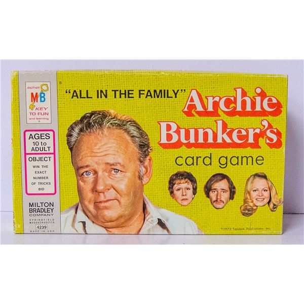 ARCHIE BUNKER CARD GAME