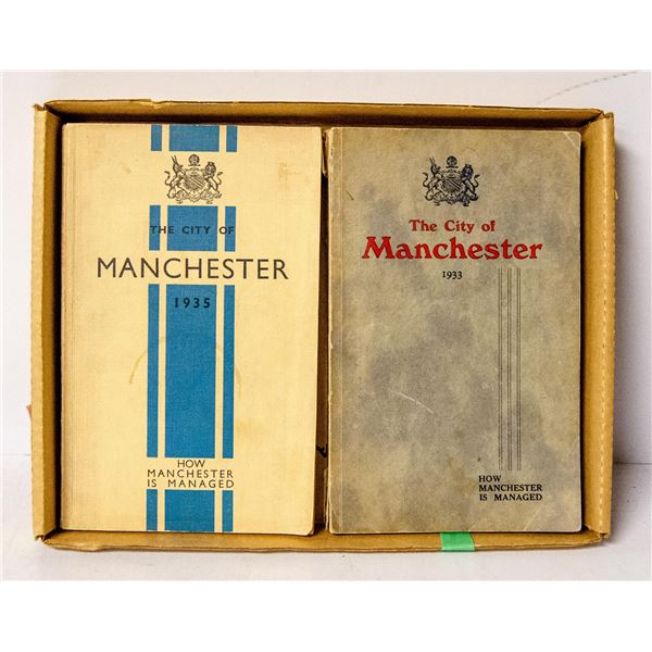 1933 AND 1935 MANCHESTER CITY GUIDE BOOKS