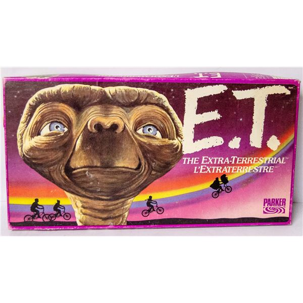 ET EXTRA TERRESTRIAL BOARD GAME