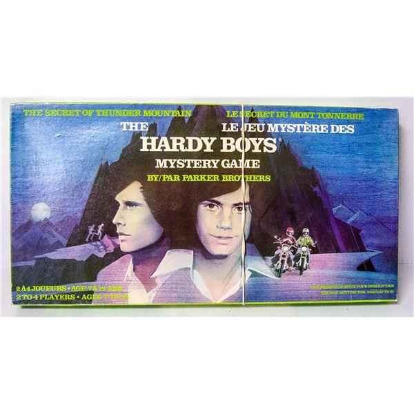 HARDY BOYS MYSTERY GAME