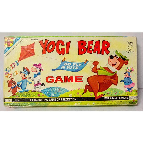 1969S YOGI BEAR GO FLY A KITE GAME