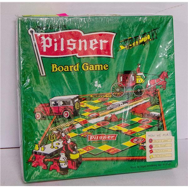 VINTAGE PILSNER BOARD GAME UNOPENED