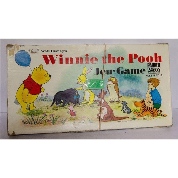VINTAGE WINNIE THE POOH BOARD GAME
