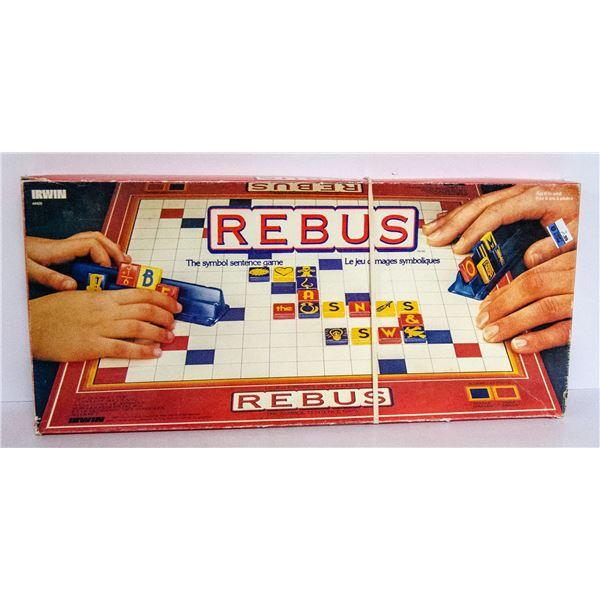 VINTAGE REBUS BOARD GAME