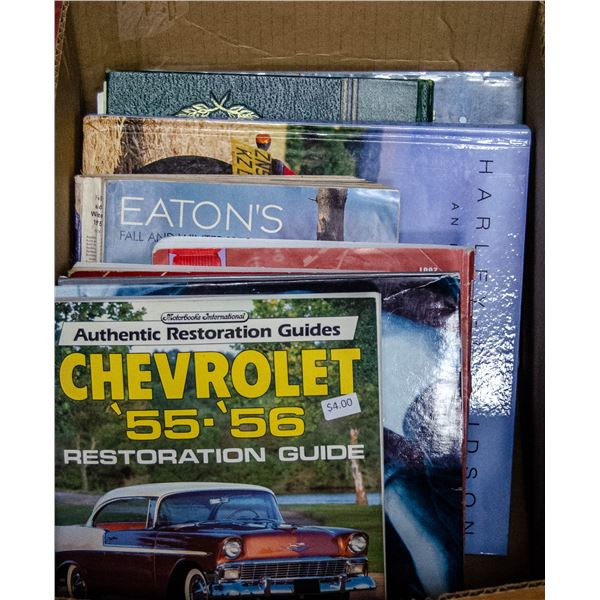 BOX OF ASSORTED COLLECTOR BOOKS