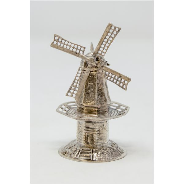 STERLING SILVER TESTED COLLECTORS WINDMILL, 34g