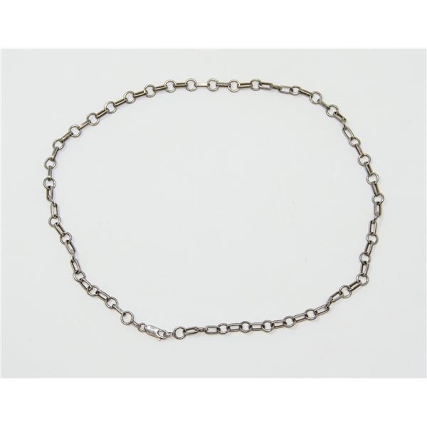 .925 SILVER  STAMPED CHAIN, 14.46g