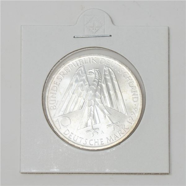 1996 SILVER GERMANY 10 MARKS COMMEMORATIVE COIN