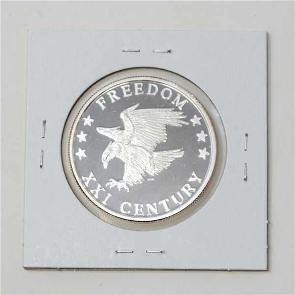 2000 FINE .999 SILVER FREEDOM EAGLE BULLION PROOF
