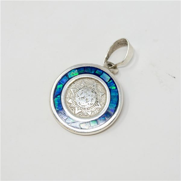 .925 SILVER  STAMPED PENDANT, 4.46g TW