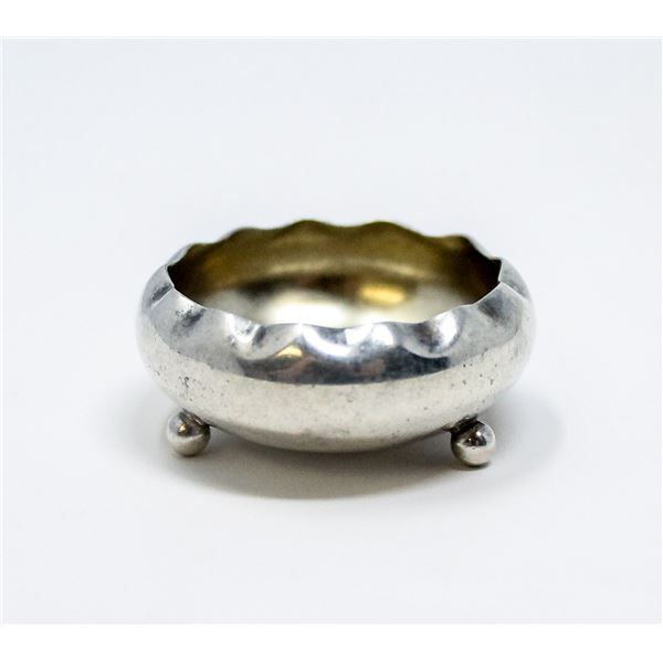 STERLING SILVER SMALL DISH, 8.0g