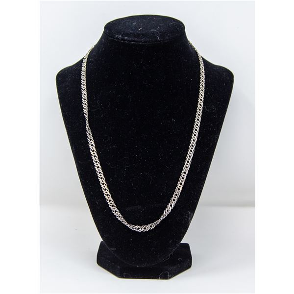 .925 SILVER STAMPED CHAIN/NECKLACE, 14.9g