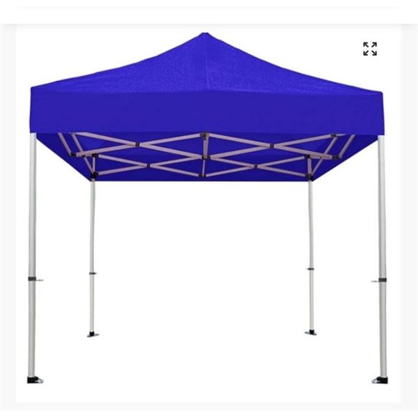 8X10 GAZEBO WITH TARP - MAY DIFFER FROM IMAGE