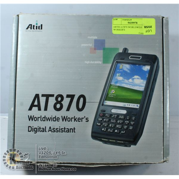 ARTID AT870 WORLDWIDE WORKER'S