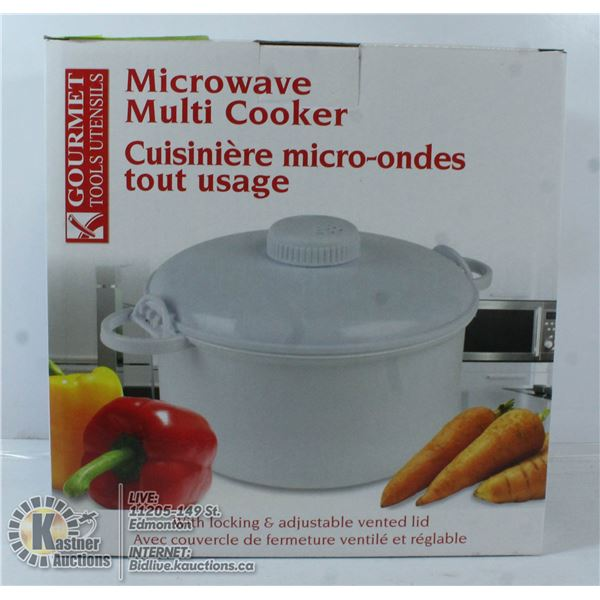 NEW MICROWAVE MULTI-COOKER
