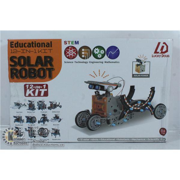 EDUCATIONAL SOLAR ROBOT