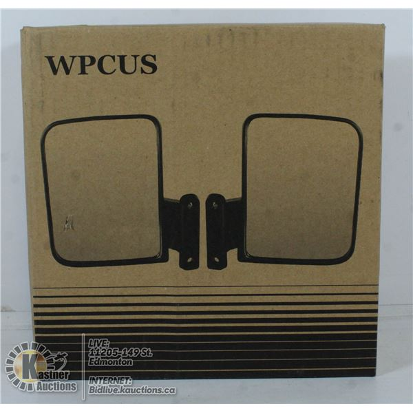 WPCUS GOLF CART SIDE MIRRORS (SET OF 2)