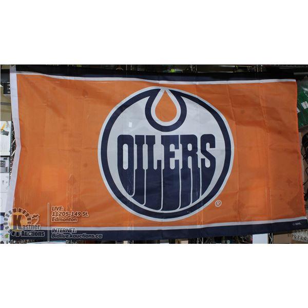 EDMONTON OILERS FLAG